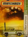 Matchbox '75 Chevy Stepside Pick up Truck Green/white #78 1/64 2007