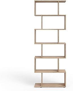 Vicco Separador de ambientes LEVIO Separador de Habitaciones estantería Separador Organizador con estantes estanterías de ...
