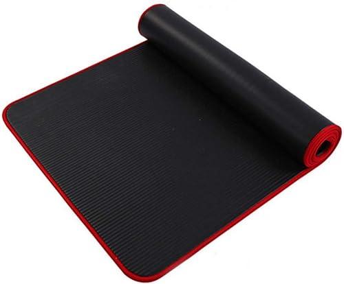 Baibian Multifonctionnel 10 Mm Pilates Tapis De Yoga Sangle Sangle Coton élastique Antidérapant Fitness Tapis De Sport Sport Exercice 4 Couleurs