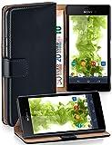 moex Klapphülle kompatibel mit Sony Xperia M4 Aqua Hülle