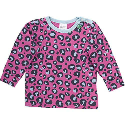 Fred'S World By Green Cotton Animal T T-Shirt, Violet (Violet 018302708), 95 (Taille Fabricant: 80) Bébé Fille