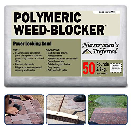 Polymeric Paver Sand Joint Stabilizing for Concrete for Paver and Stone Joints - Tan Color to 3/8 Joints Activated with Water - 50 Pounds