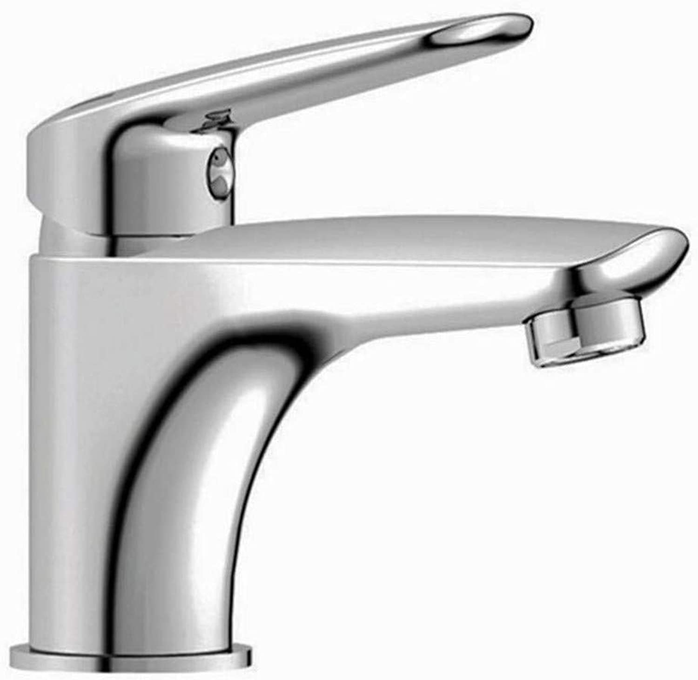 Taps .Kitchen Sinkbrass Basin Single Hole Deck Mounted Ceramic Chrome Faucet