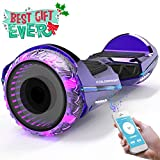COLORWAY Hoverboard SUV 6.5 Pouces,Gyropode Tout-Terrain avec Roues LED Flash,...