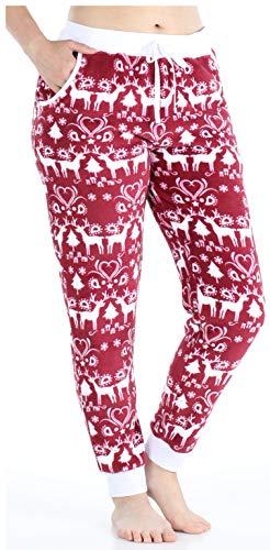 Frankie & Johnny Ropa Dormir Mujer Pijama Forro Polar