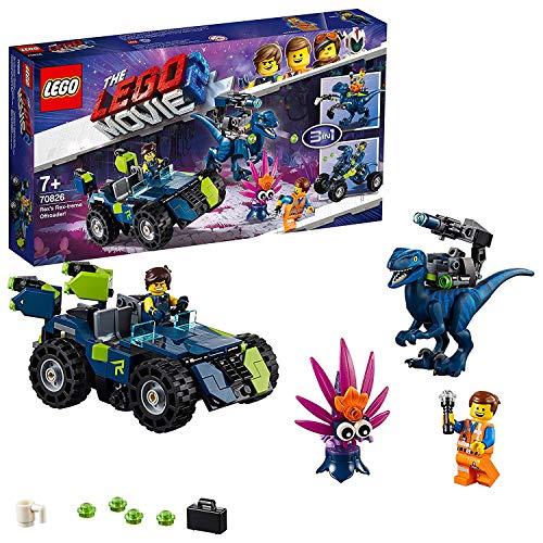 LEGO Movie 2 - Il Fuoristrada Rex-tremo di Rex!, 70826