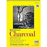 Strathmore Charcoal Paper Pad, 32 Sheets, 9 x 12-inch, White (330-9) 2-Pack