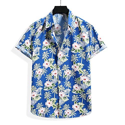 SSBZYES Camisas para Hombre Camisas De Verano De Manga Corta Camisetas para Hombre Tops Camisas Hawaianas De...