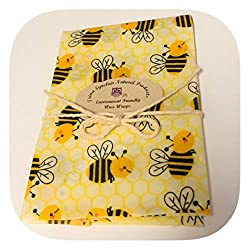 gifts for zero wasters ~ beeswax food wraps