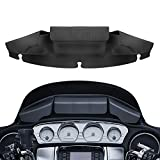 XMMT Batwing Fairing Windshield Storage Pouch Bag 3 Pocket Magnetic Closures For Harley Touring Electra Gilde Street Glide Ultra Limited 2014-2021