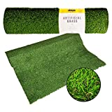 <span class='highlight'><span class='highlight'>simpa</span></span> 1 x Quality Non Fade Artificial Grass Pile Roll - 4m x 1m / 13ft x 3.3ft - 22mm Pile Height - Astro Turf Fake Lawn - Tested Extreme Weather Conditions.