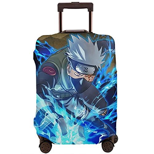 Anime Naruto Hatake Kakashi Travel Maleta Fundas Protectores Cremallera Lavable Trolley Funda Protectora
