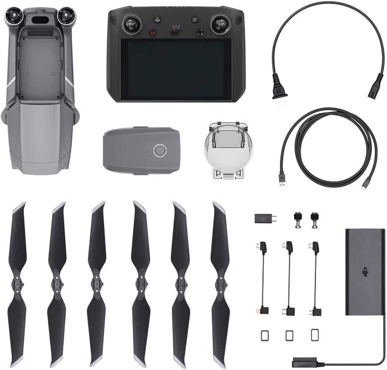 DJI Mavic 2 PRO con Ultra-Brillante 5.5  Remote Control Display