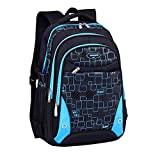 FLHT, mochila escolar 8-12-15 años niño niña estudiante de secundaria de escuela secundaria...