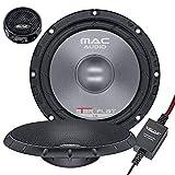 Mac Audio Star Flat 2.16 - Altavoces de coche (sistema de componentes de 2 vías, 300 W) negro