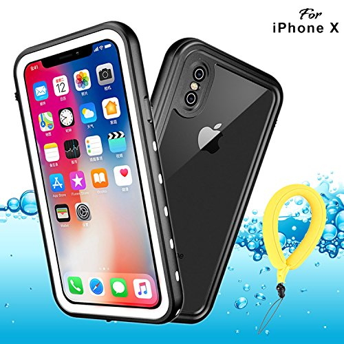 Funda Impermeable iPhone XS iPhone X, IP68 Waterproof