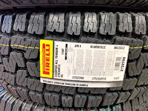 Pirelli Scorpion All Terrain Plus radial Tire-275/65R18 116T