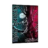 WERTQ Iron Maiden Leinwand Kunst Poster und Wandkunst
