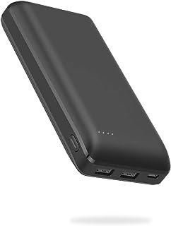 [Amazon限定ブランド] CLIENA モバイルバッテリー 20000mAh 超大容量 Z200P【PSE認証済/iPhone&Android対応】ブラック