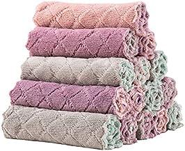 YTXTT 5 toalhas de banho, toalhas de mão antiaderentes de veludo para pendurar a óleo, limpam eficazmente as manchas para ...