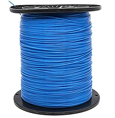"""KAKO Commercial Grade Round .065-Inch Nylon String Lawn Trimmer Line,Weed Wacker Eater String .065"""" Trimmer Line for String Trimmer 5-Pound, 0.065""""-3000ft Length String Trimmer Line in Spool?Blue?"""