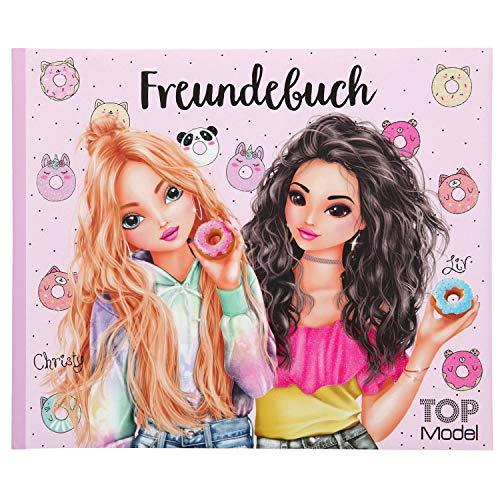 Depesche 11034 Freundebuch TOPModel, rosa, ca. 17,5 x 21 x 1,5 cm