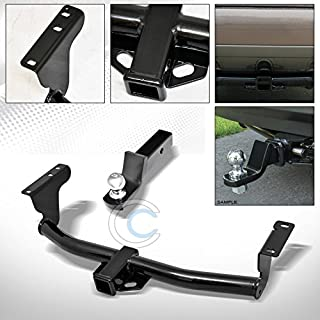 S&T Racing Black Finished Class 3 Trailer Hitch Loaded Ball Bumper Tow Kit 2