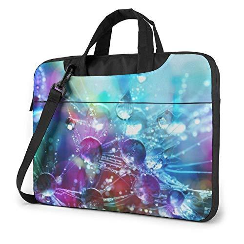 Riegue el Bolso de Hombro Impreso Colorido del Ordenador portátil, maletín del Bolso de Mensajero del Negocio del Bolso de la Caja del Ordenador portátil