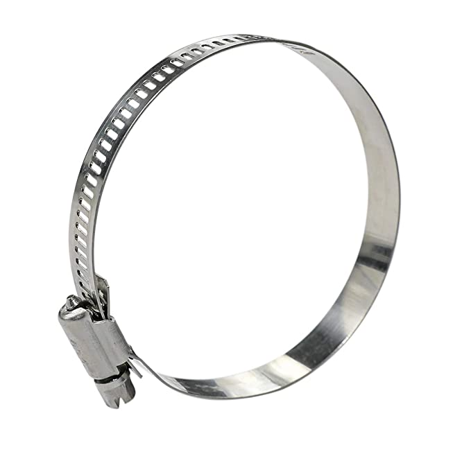 65-89mm 2.56-3.5 WYKA 10 Pack Worm Gear Hose Clamp Adjustable 304 Stainless Steel Pipe Clips