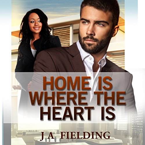 Home Is Where The Heart Is (A Billionaire BWWM Interracial Romance Book 1)  audiobook cover art