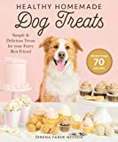 Healthy Homemade Dog Treats: More than 70 Simple, Delicious & Nourishing Recipes for Your Furry Best Friend: More than 70 Simple & Delicious Treats for Your Furry Best Friend