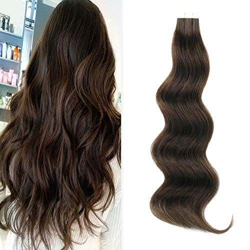 Lovrio Golden Brown Extension with Seamless Skin Weft