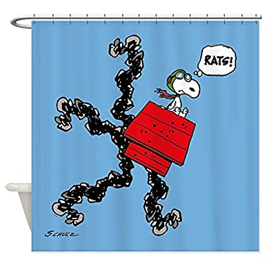 CafePress - Flying Ace Rats! - Decorative Fabric Shower Curtain (69 x70 )