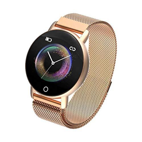FANZIFAN Fitness Tracker R1 Smart Band EKG PPG Fitness Armband Smart Armband Mit Herzfrequenz Blutdruck Multifunktions Fitness Tracker Uhr, Gold