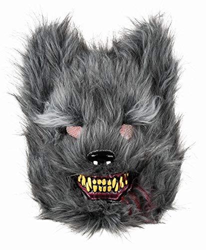 Boland 72215 Gesichtsmaske Werwolf, Grau