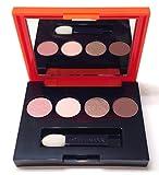 Estée Lauder Lisa Perry Pure Color Eyeshadow 4 Color Palette / 47-Nude Fresco, 10-Ivory Slipper, 35-Hot Cinnamon, 38-Chocolate Bl