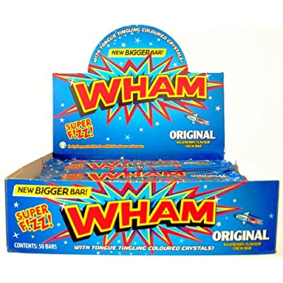 wham chew bars original (box of 50) Wham Chew Bars Original (Box of 50) 51c vBCFtJL