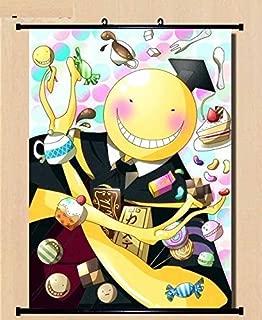 Home Decor Ansatsu Kyoushitsu/Assassination Classroom Koro-sensei scroll poster23.6x35.4 Inches -018