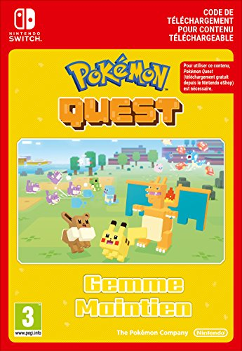 Pokémon Quest Stay Strong Stone DLC | Switch - Version digitale/code