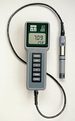 New Handhelp pH Meter 0-14pH, 10 Ft Cable