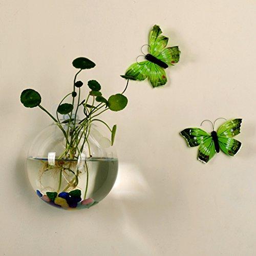 Youliy Glasvase, 8 cm, zum Aufhängen, Glasvase für Hochzeit, Dekoration für Innenräume