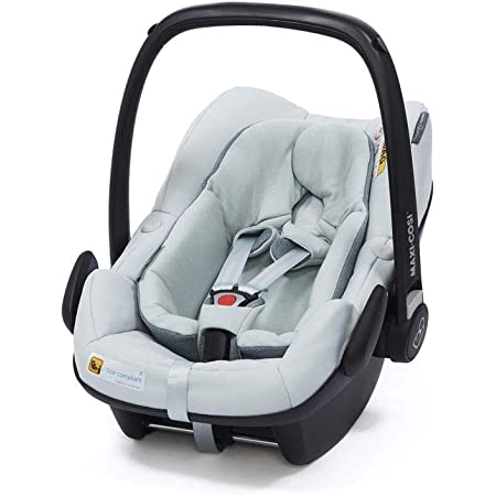 Maxi Cosi Pebble Plus Babyschale Sicherer Gruppe 0 I Size Kindersitz 0 13 Kg Nutzbar Ab Der Geburt Bis Ca 12 Monate Passend Für Familyfix One Basisstation Grey Baby
