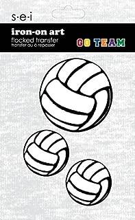 SEI Darice 3 Volley Balls Iron On