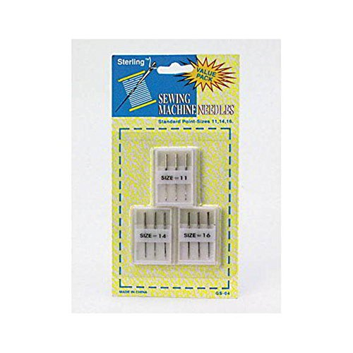 Affordable Sewing machine needles with cases - Pack of 24