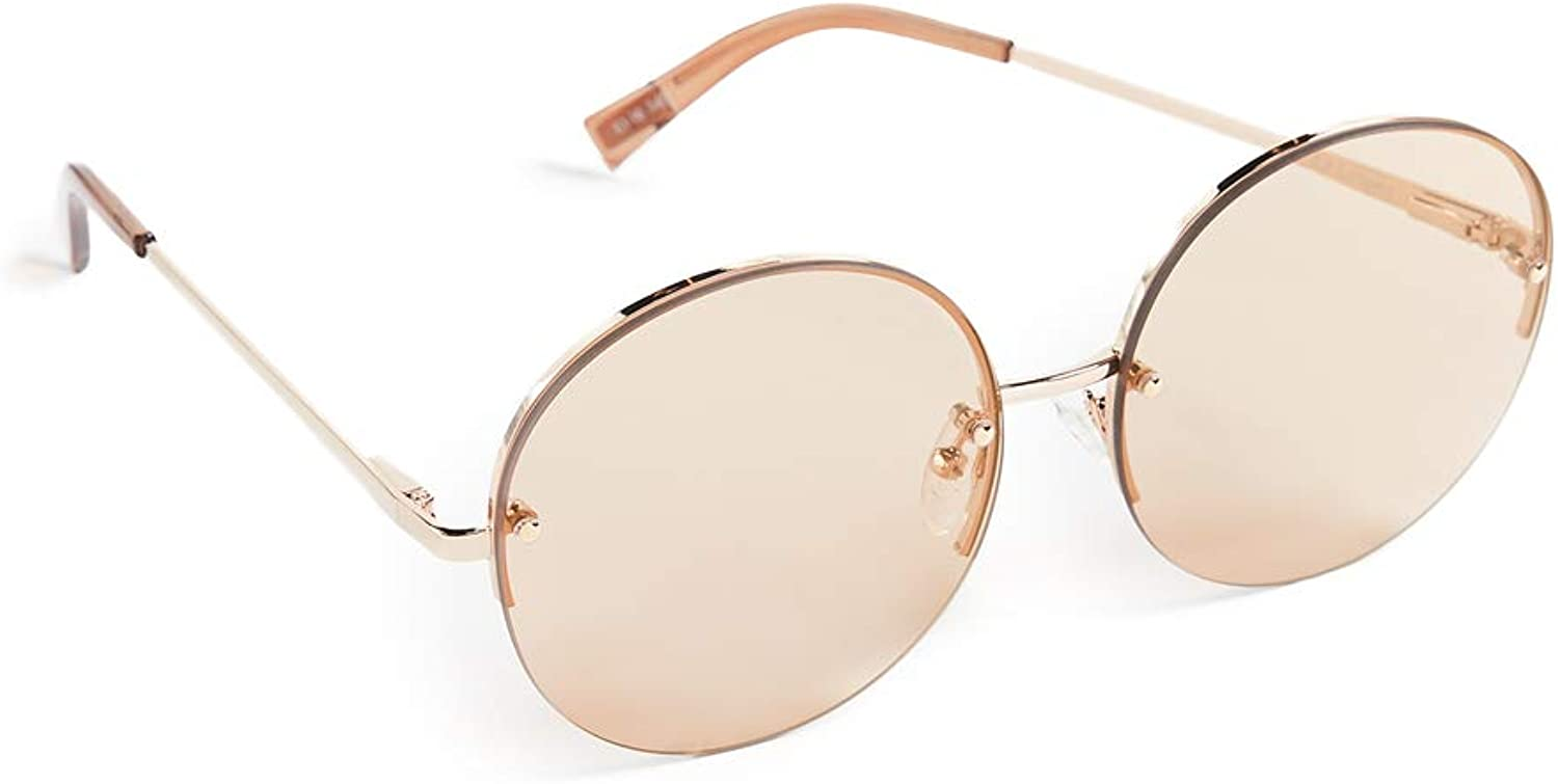 Le Specs Unisex Say My Name pink gold One Size
