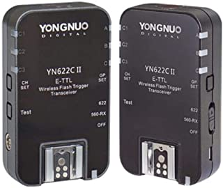 Yongnuo YN-622C Wireless E-TTL Flash Trigger Receivers Transceivers For Canon
