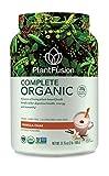 PlantFusion Complete Organic Plant Based Pea Protein Powder |...