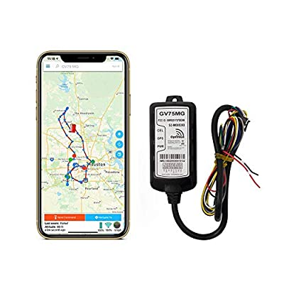 Optimus GV75MG Waterproof Wired GPS Tracker for Motorcycles, Boats, Machinery, Assets