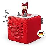 Toniebox Starterset in Rot: Toniebox + Kreativ-Tonie - Der Tragebare...