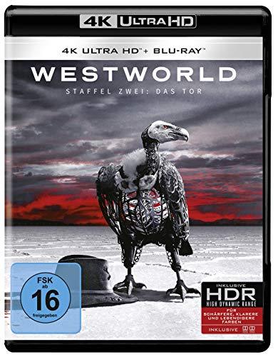 Westworld - Die komplette 2. Staffel - Repack (3 Blu-rays 4K Ultra HD) (+ 3 Blu-rays 2D)